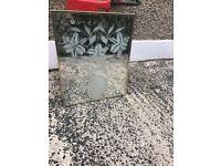 Flower mirror for sale!