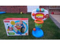 Fisher Price Dunk & Cheer Basketball Game