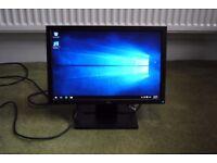 Dell E Series E1709Wf 17'' LCD Widescreen Monitor - Excellent Condition