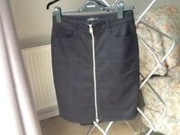 Denim Pencil Skirt Size M
