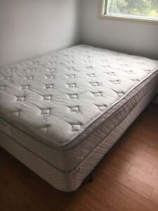 Double Bed Set + Bed Frame