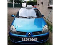 Clio Dynamique 1.2 manual blue