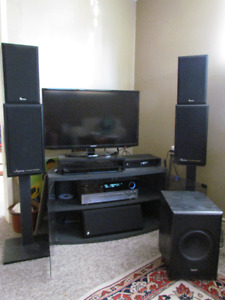 Infinity 5.1 surround sound system