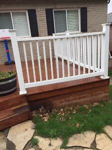 Entire decking and fence for sale BEST OFFER
