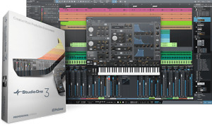 Presonus Studio One 3 DAW, Faderport +Audio effect Plugins +More