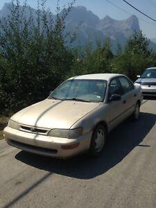 FREE Toyota 1996 Corolla