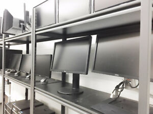 """LCD LED Moniters 19"""" to 24"""" start at $25 8th St Computers"""