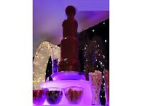 CHOCOLATE FOUNTAIN HIRE and CANDY FLOSS birthdays weddings proms parties christenings