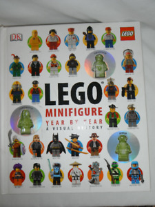 Lego Minifigure year by year a visual history published in 2013