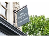 Chef de Partie - Full/ Part time - The Oxford, Kentish Town