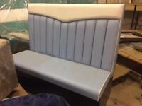 American diner bench seat 1200mm. Ex display