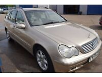 2003 Mercedes Benz C270 CDI ELEGANCE SE AUTO IN GOOD CONDITION MOT UNTIL JULY 2018
