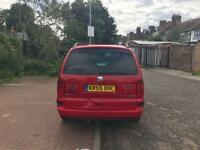 SEAT ALHAMBRA 1.9 TDi PD Stylance 7 Seat [130 PS] 5dr (red) 2005