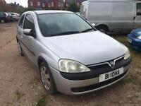 Vauxhall Corsa 1.2 2001 + 12 MONTHS MOT + GOOD RUNNER