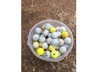 2 x 100 used golf balls - various condition