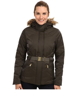 Authentic the NorthFace/ North Face Jacket Womens Down Belted XS
