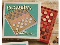 Wooden Draughts (NEW)