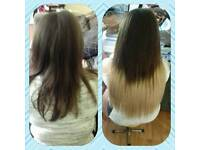 Hair extensions free consultation top quality human hair