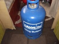 full 15kg bottle of calor gas