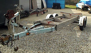 looking for a project tandem boat trailer and old compass