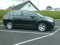 2012 Peugeot 3008 1.6Hdi, With Sat Nav..