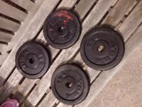 York 5kg plates x4 (total 20kg)
