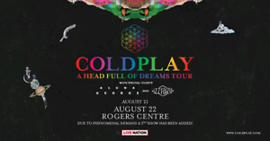 Coldplay Toronto Rogers Center