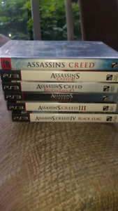 Assassin's Creed set 1-4 PS3