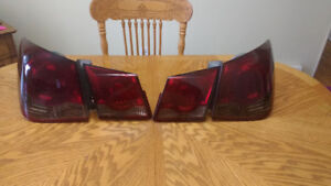 Tinted tail lamps Chevy Cruze