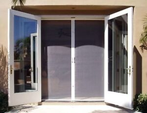 Retractable Screen Door - KEEP BUGS OUT, Let Fresh Air In!!