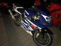 Suzuki gsxr 600 2003 53 plate mint condition fresh mot