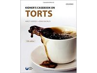 Kidner's Casebook on Tort 13th Edition Kirsty Horsey and Erika Rackley