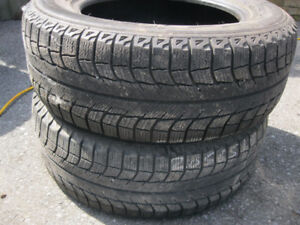 2~205/65/15-Michelin X-Ice Snow Tires