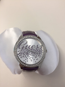 Brand new Guess watch with leather band