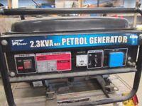 2.3KVA Petrol Generator.