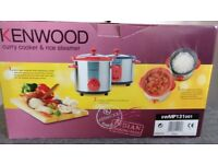 Kenwood slow cooker and rice cooker BNIB