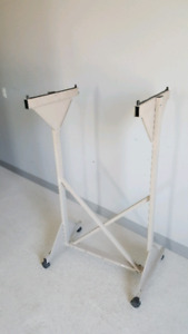 Drawing Clamp Hanger Mobile Rack