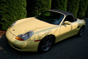 Porsche Boxster in excellent shape