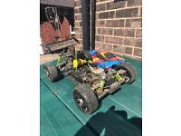 Rc nitro radio control car buggy