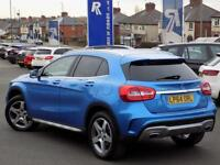 MERCEDES-BENZ GLA-CLASS 2.1 GLA200 CDI AMG LINE 5dr 136 BHP *Stunning in S (blue) 2015