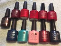 CND Shellac Polishes Brand New