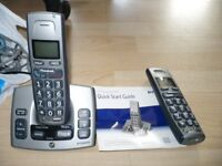 BT Freestyle 750 Answer machine and two cordless phones