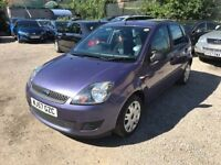 FORD FIESTA STYLE CLIMATE HATCHBACK, 1388cc, 5 Doors**IDEAL 1st CAR**DRIVES PERFECT**GOOD EXAMPLE**