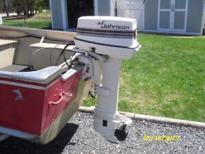 1985 Johnson 30 HP with controls