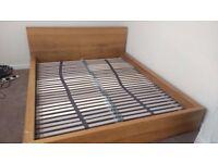 Solid King Size Bed Frame