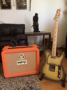 ••Rare and Super Clean•• Fender ORANGE Duo possible Trade/Swap