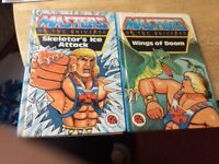 He man First Edition ladybird books and Transformers First Edition Ladybird books