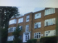 SUTTON -2 BEDROOM VERY LARGE FLAT IN A GATED BLOCK WITH A LARGE COMMUNAL GARDEN
