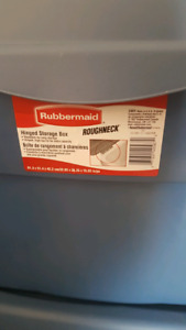 Two Free Rubbermaid Containers