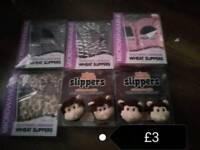 Slippers MICROWAFEABLE for kids and adults